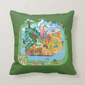 Zootopia | City Map Throw Pillow