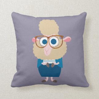 Zootopia   Deputy Mayor Bellwether Throw Pillow