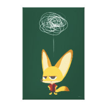Zootopia | Finnick - This Will Never Work Canvas Print