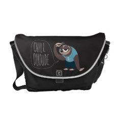 Zootopia | Flash - Chill Duuude Courier Bag at Zazzle