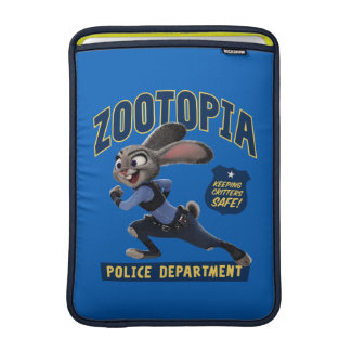 Zootopia | Judy Hopps - Keeping Critters Safe! Sleeve For MacBook Air