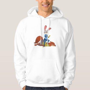Disney Themed Zootopia   Judy Hopps & Nick Wilde - Busted! Hoodie