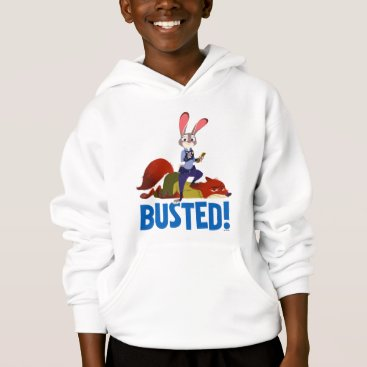 Disney Themed Zootopia | Judy Hopps & Nick Wilde - Busted! Hoodie