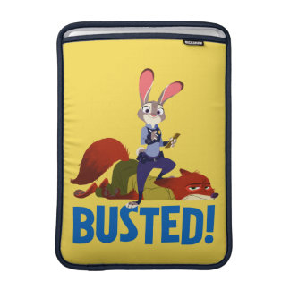 Zootopia | Judy Hopps & Nick Wilde - Busted! Sleeve For MacBook Air