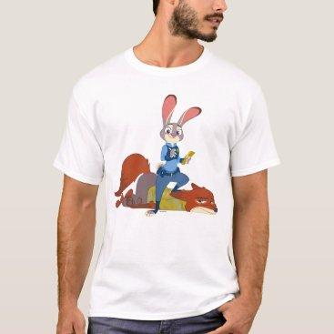 Disney Themed Zootopia   Judy Hopps & Nick Wilde - Busted! T-Shirt