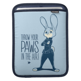 Zootopia | Judy Hopps - Paws in the Air! iPad Sleeve