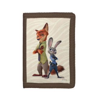 Zootopia   Judy & Nick Best Buddies Trifold Wallet