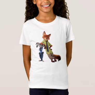 Disney Themed Zootopia | Judy & Nick - Just Chilling! T-Shirt