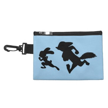 Disney Themed Zootopia | Judy & Nick Running Silhouette Accessory Bag