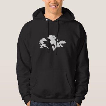 Disney Themed Zootopia | Judy & Nick Running Silhouette Hoodie