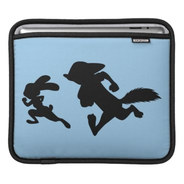 Disney Themed Zootopia | Judy & Nick Running Silhouette iPad Sleeve