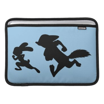 Disney Themed Zootopia | Judy & Nick Running Silhouette MacBook Sleeve
