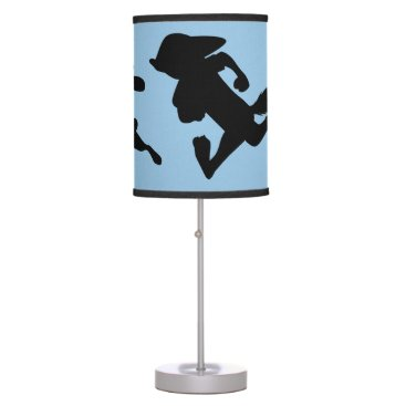 Disney Themed Zootopia | Judy & Nick Running Silhouette Table Lamp