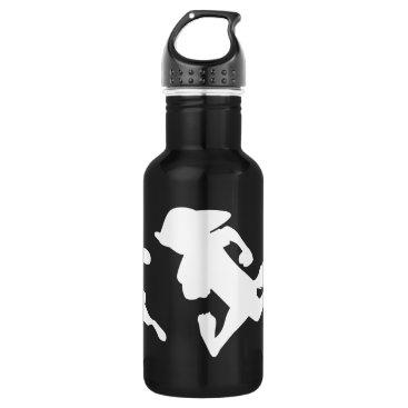 Disney Themed Zootopia | Judy & Nick Running Silhouette Water Bottle