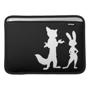 Disney Themed Zootopia | Judy & Nick Silhouette MacBook Sleeve