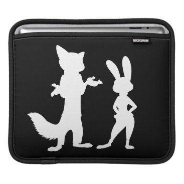 Disney Themed Zootopia | Judy & Nick Silhouette Sleeve For iPads