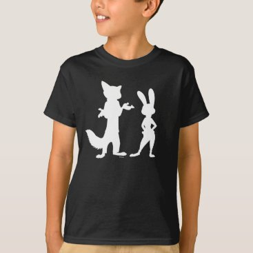 Disney Themed Zootopia | Judy & Nick Silhouette T-Shirt