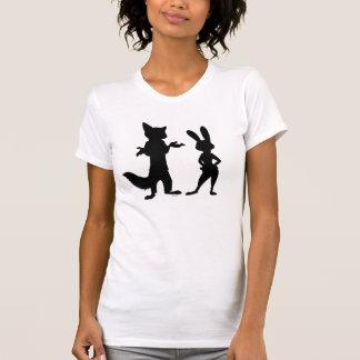Zootopia | Judy & Nick Silhouette T-Shirt