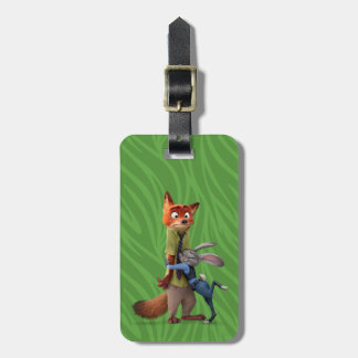 Zootopia | Judy & Nick - Suspect Apprehended! Bag Tag