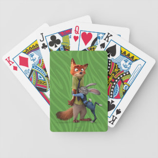 Zootopia | Judy & Nick - Suspect Apprehended! Bicycle Playing Cards