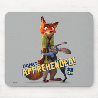 Zootopia | Judy & Nick - Suspect Apprehended! Mouse Pad