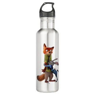Zootopia | Judy & Nick - Suspect Apprehended! Stainless Steel Water Bottle