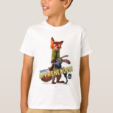 Disney Themed Zootopia | Judy & Nick - Suspect Apprehended! T-Shirt