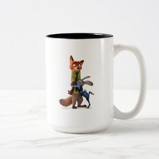 Zootopia | Judy & Nick - Suspect Apprehended! Two-Tone Coffee Mug