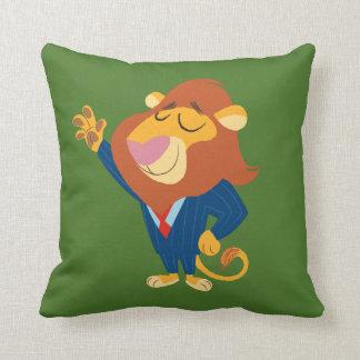 Zootopia   Mayor Lionheart Throw Pillow