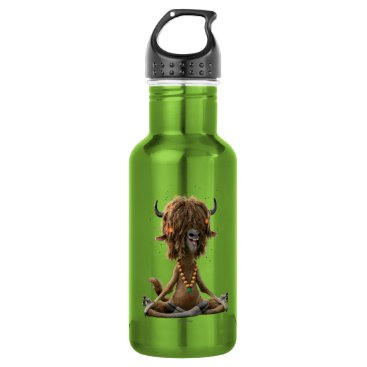 Disney Themed Zootopia | Meditate with Yax Stainless Steel Water Bottle