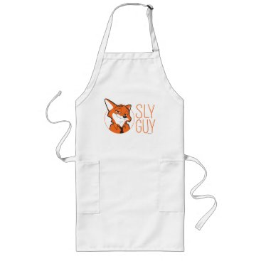 Disney Themed Zootopia | Nick Wilde - Sly Guy Long Apron