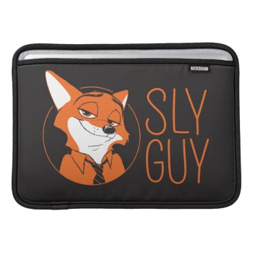 Disney Themed Zootopia | Nick Wilde - Sly Guy Sleeve For MacBook Air