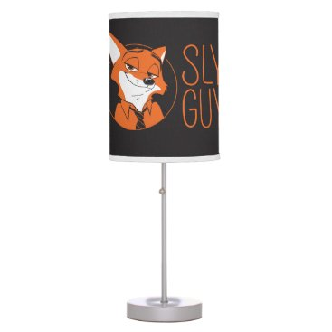 Disney Themed Zootopia | Nick Wilde - Sly Guy Table Lamp