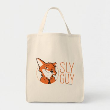 Disney Themed Zootopia | Nick Wilde - Sly Guy Tote Bag