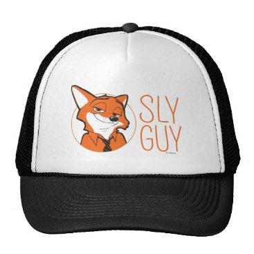 Disney Themed Zootopia | Nick Wilde - Sly Guy Trucker Hat
