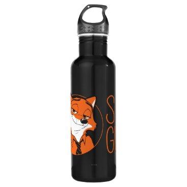 Disney Themed Zootopia | Nick Wilde - Sly Guy Water Bottle