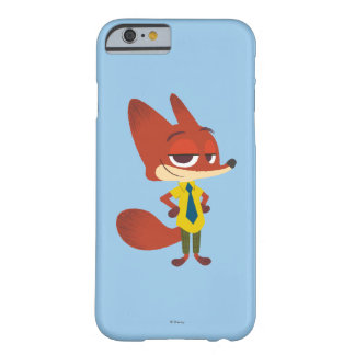 Zootopia   Nick Wilde - The Sly Fox Barely There iPhone 6 Case