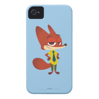 Zootopia | Nick Wilde - The Sly Fox iPhone 4 Cover