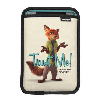 Zootopia | Nick Wilde - Trust Me! Sleeve For iPad Mini