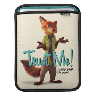 Zootopia | Nick Wilde - Trust Me! Sleeve For iPads