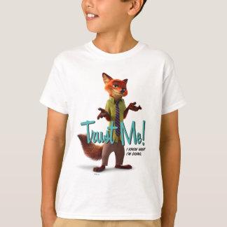 Zootopia | Nick Wilde - Trust Me! T-Shirt