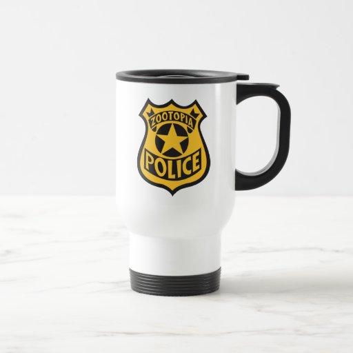 Zootopia Police Badge Travel Mug