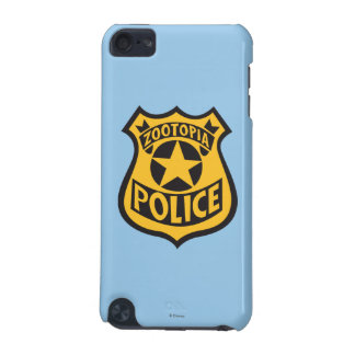Zootopia | Zootopia Police Badge iPod Touch (5th Generation) Case