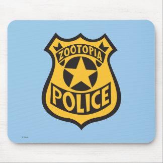 Zootopia   Zootopia Police Badge Mouse Pad