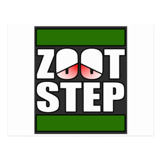 Zootstep zooted Funny DUBSTEP Postcard