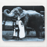 Zora and Trilby 1916 Mouse Pad