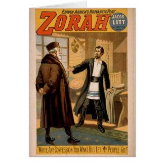 Zorah Greeting Card
