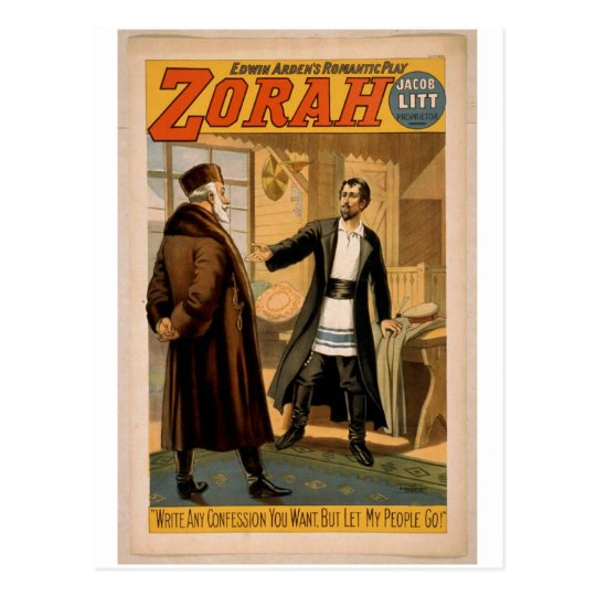 Zorah Postcard