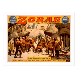 Zorah Russian Miners Theatrical Poster Postcard