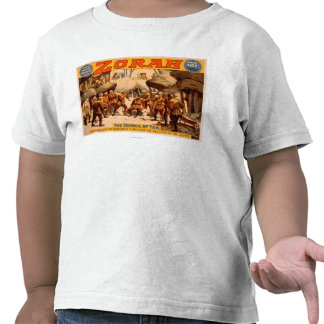 Zorah Russian Miners Theatrical Poster Tshirt